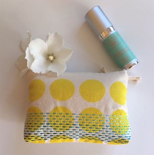 Sun, Sand and Sea Travel Clutch