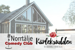 4/7 Norrtälje Comedy Club English Night på Kärleksudden GRILLBUFFÉ + SHOW