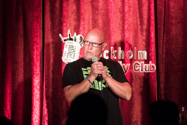 14/8 English Comedy Monday with David T Weaver