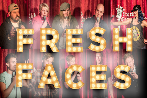 6/5 BEST OF Stockholm Comedy Club: FRESH FACES