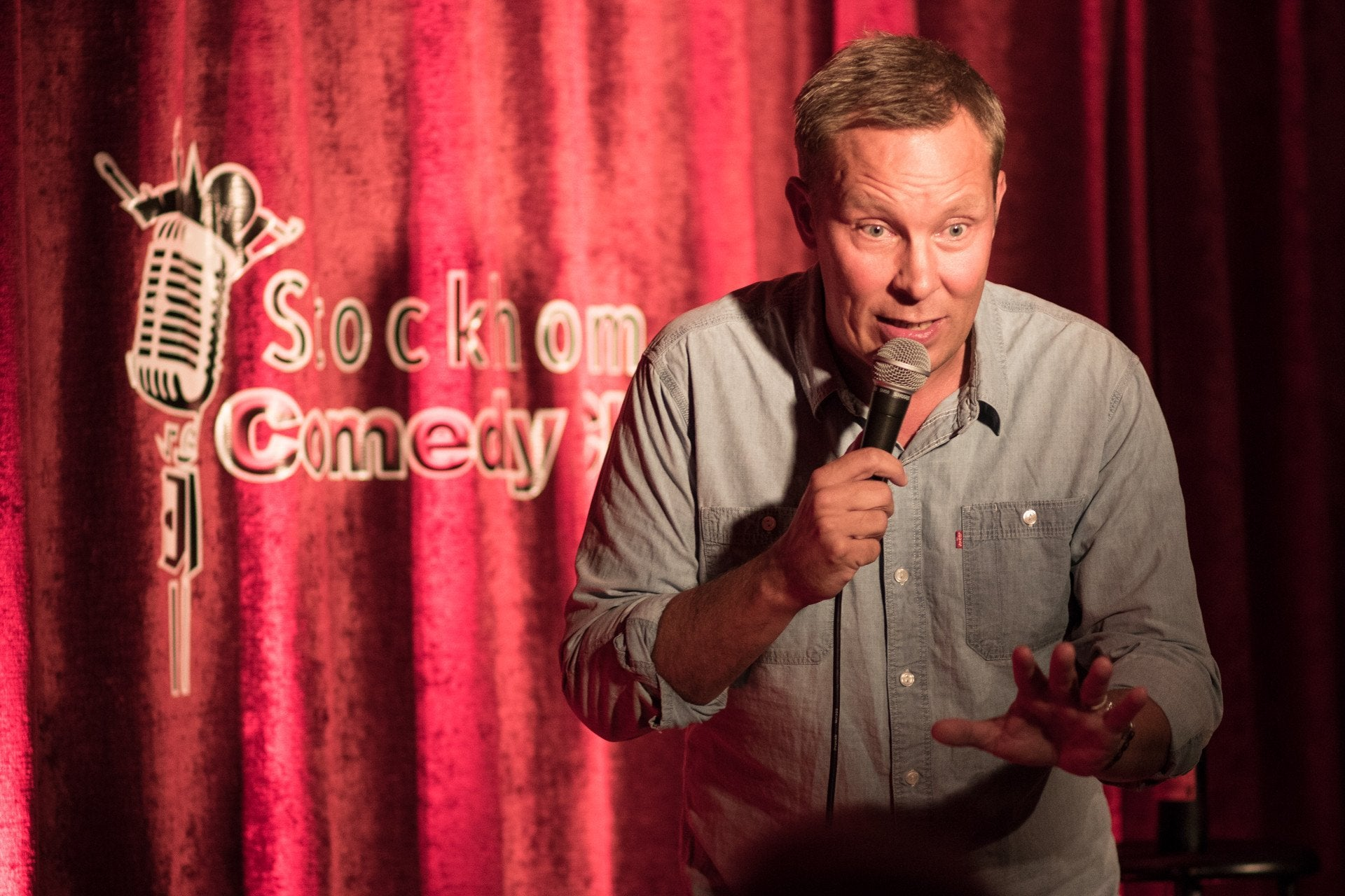 17/8 BEST OF Stockholm Comedy Club med Patrik Larsson
