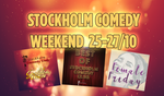 Stockholm Comedy Club Weekend Pass 25-27 oktober