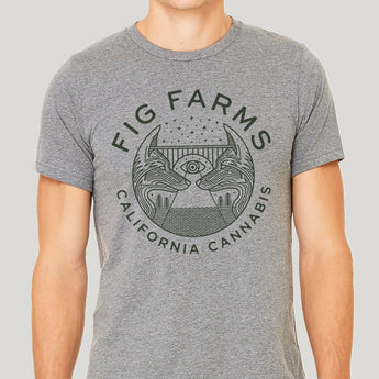 Fox Tee: Dark Grey