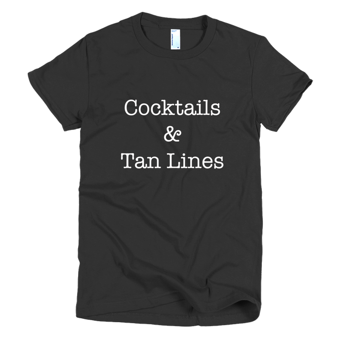 Cocktails & Tan Lines Tee