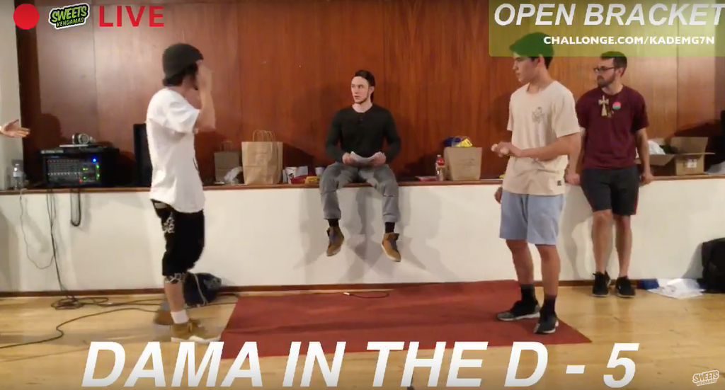 DAMA IN THE D 5 FINAL DAY FREESTYLE & OPEN FOOTAGE