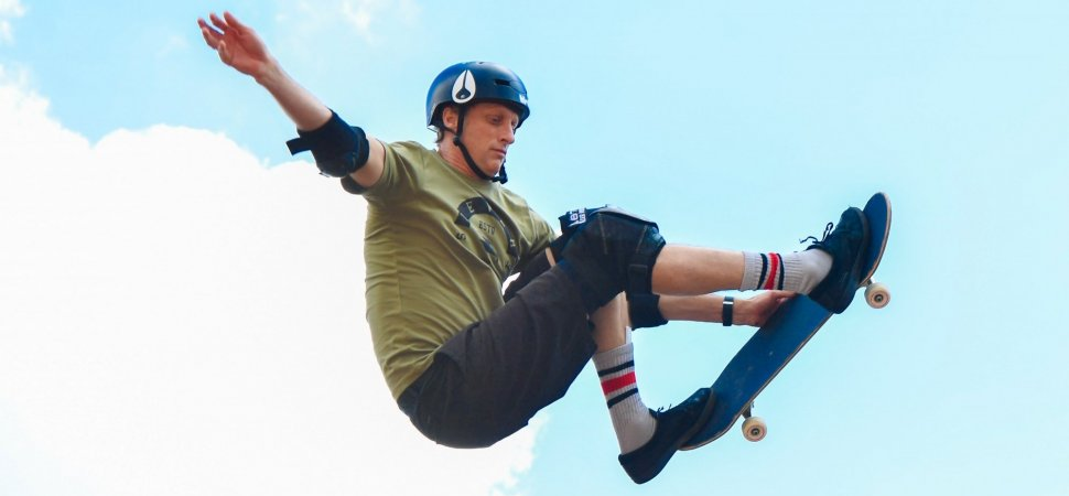 Tony Hawk Laces Tricks Just Like Us