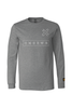 HMGRWN Box Logo Long sleeve - Gray