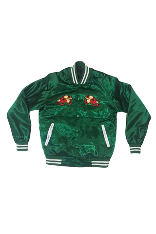 🌹  Sweets League Satin Jacket | Green 🌹