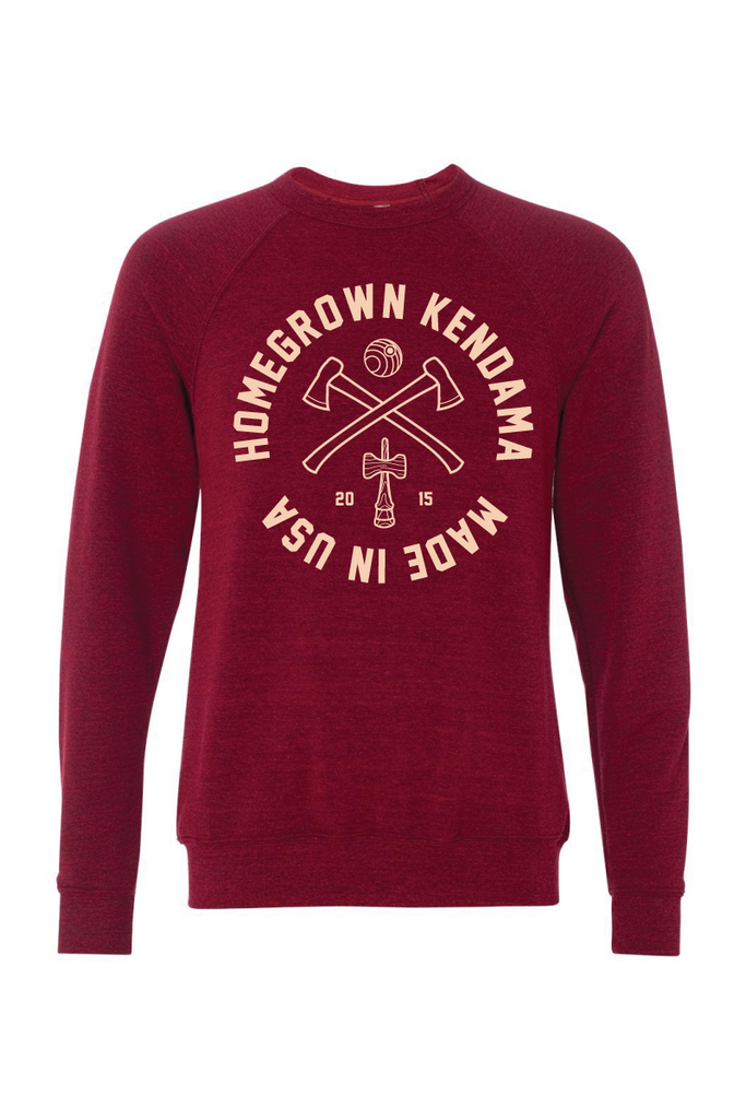 Homegrown Crewneck - Maroon