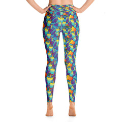 Dama Fade - Yoga Leggings