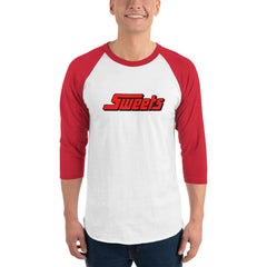 Retro Sweets 3/4 sleeve raglan shirt