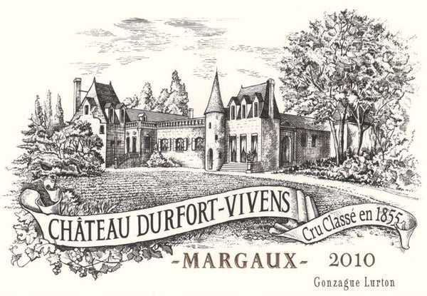 Laguna Cellar featuring Château Durfort-Vivens, Margaux, Bordeaux