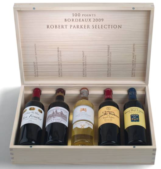 Robert Parker Jr 2009 Vintage 100-point Selection Mixed Case