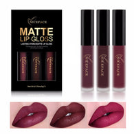 3 piece Hydra Matte Lip Gloss Set
