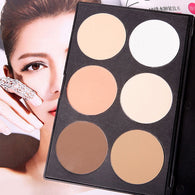 6 Color Contouring Powder Palette