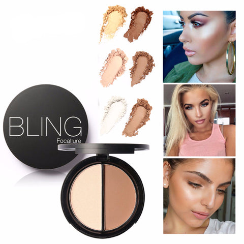 Dual Color Contouring Powder
