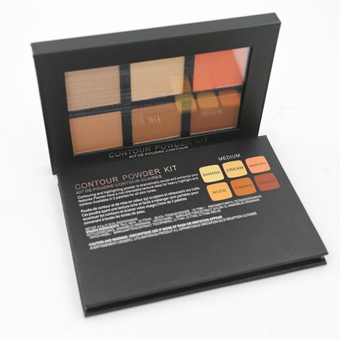 6 Color Contour Powder Kit