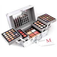 Professional Aluminum All-in-One Cosmetics Kit