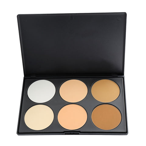 6 Color Professional Contour Powder Palette