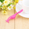 Stainless Steel Eyelashes Tweezer Applicator