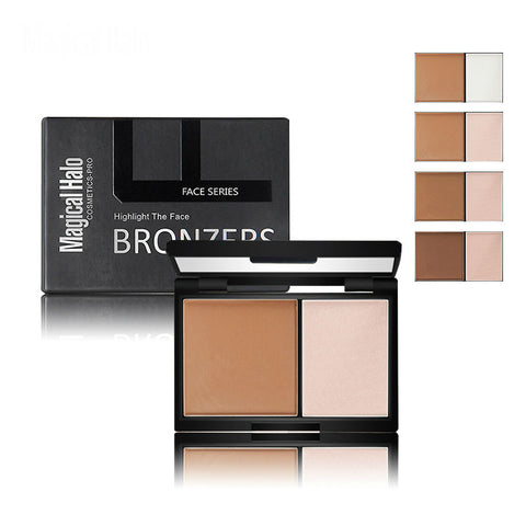 Highlight the Face Bronzer Palette with Mirror