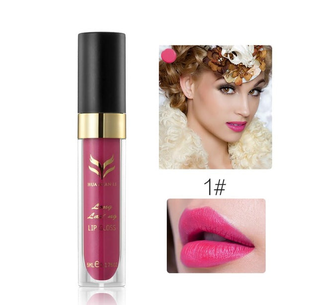 Long Lasting Moisturizing Liquid Lip Gloss