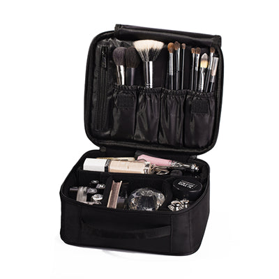 Travel Cosmetics Case  With Custom Compartments