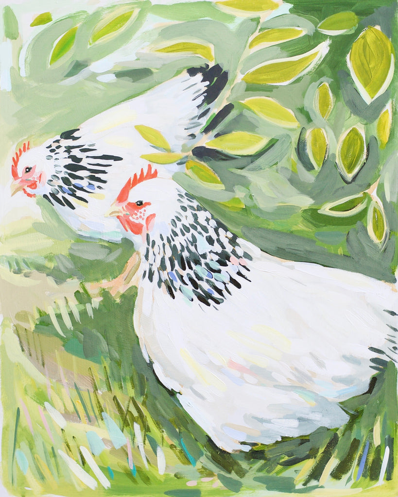 Birds of the Field No. 2 - 16x20