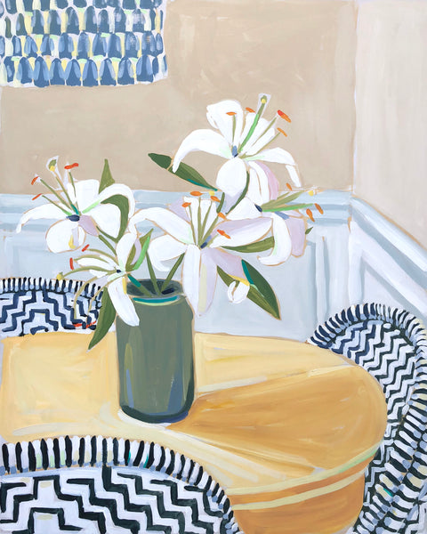 """Lilies for Paula"" limited edition giclée print - 11x14"