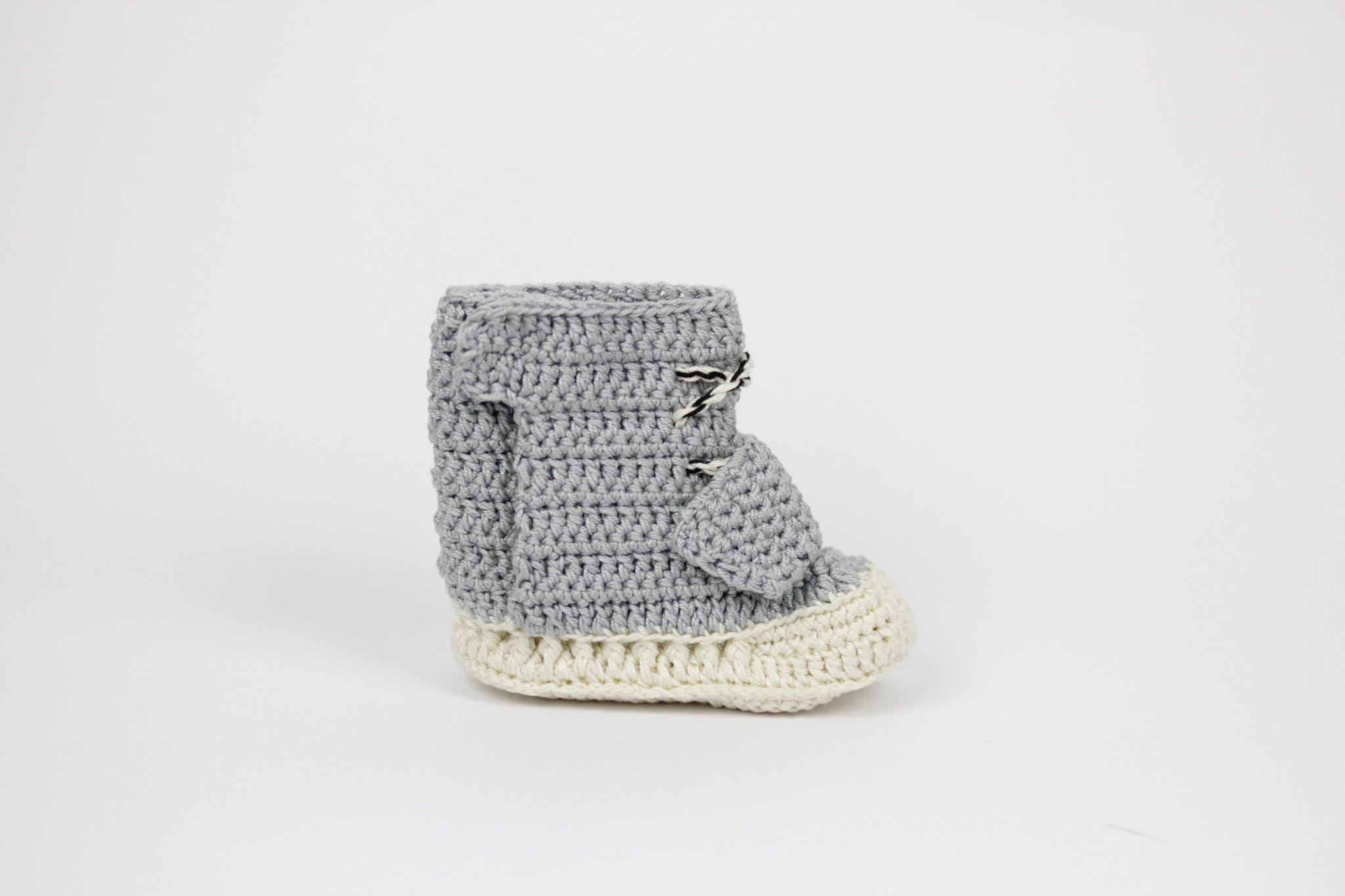 Romeobabe High Grey. Handmade booties from Spain.