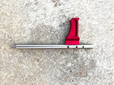 CZ Scorpion Improved Charging Handle - Red