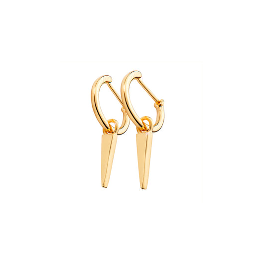 SPIKE HOOPS GOLD
