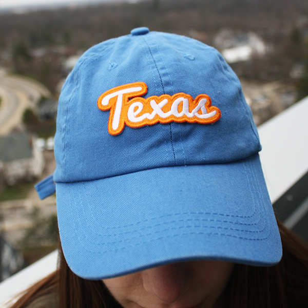 Texas Patch Sticker
