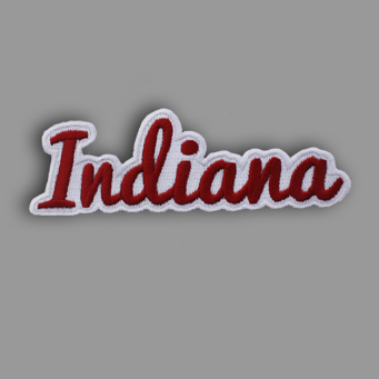 Indiana Patch Sticker