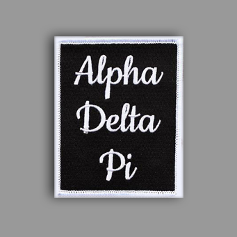 Alpha Delta Pi Patch Sticker
