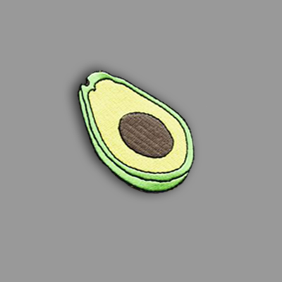 Avocado Patch Sticker