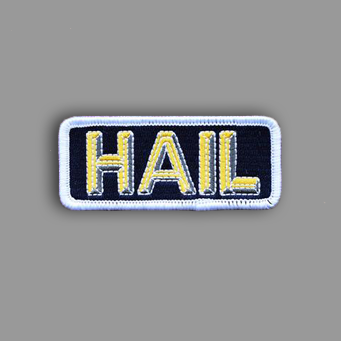 Hail Patch Sticker