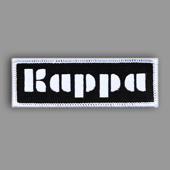 Kappa Kappa Gamma Patch Sticker
