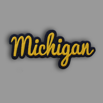 Michigan Patch Sticker