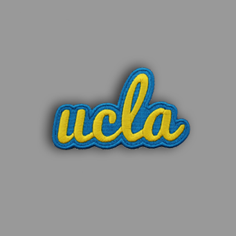 UCLA Patch Sticker