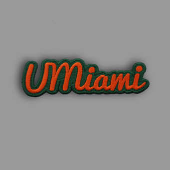 UMiami Patch Sticker