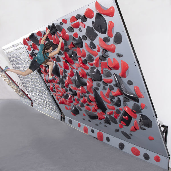 EverActive®️ Climbing Wall - 8' Wide Freestanding