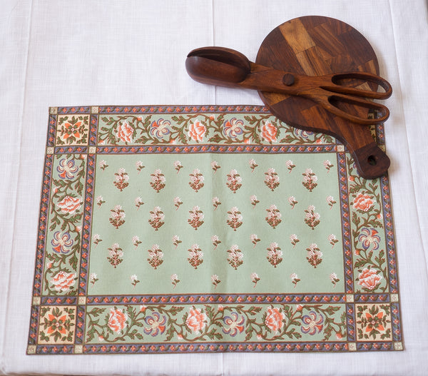 Malabar Celery Placemats, Table - Shop Handprint