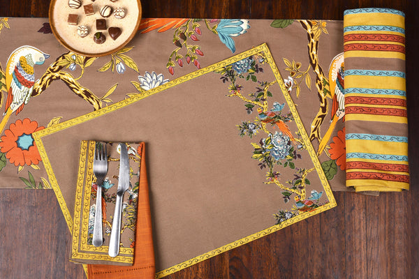 Bird Symphony Placemats, Table - Shop Handprint