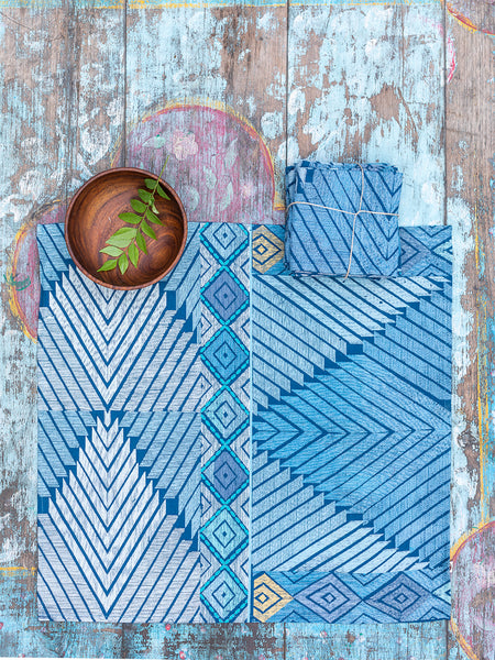 Medallion Blue Napkins