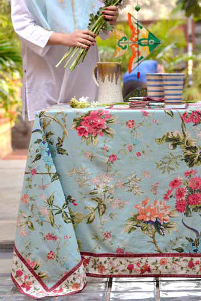 Corsica Sky Tablecloth, Table - Shop Handprint