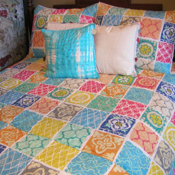 Dorset Cotton Quilt, Bedroom - Shop Handprint