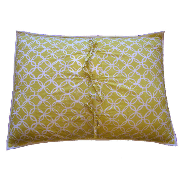 Dorset Cotton Pillow Sham, Bedroom - Shop Handprint