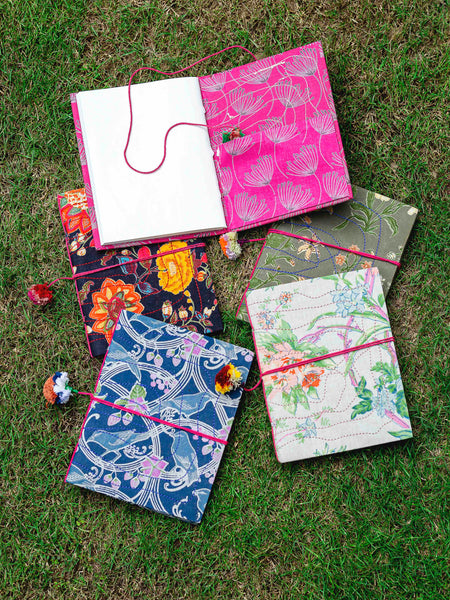 Fabric Khata Journal, Gifting - Shop Handprint