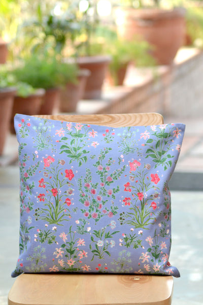 Garden Azure Cushion Cover, pillow - Shop Handprint